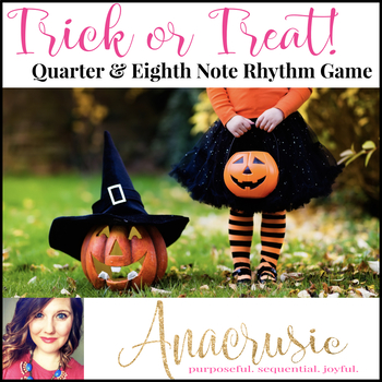 Trick or Treat! Halloween Rhythm Game for Quarter Note & T