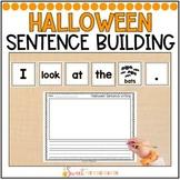 Halloween Simple Sentence Building