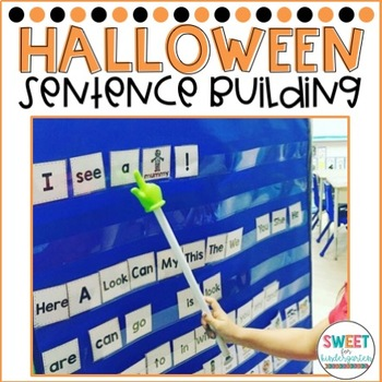 Trick or Treat Halloween Sentence Building