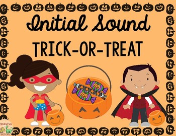 Trick or Treat Initial Sound Match
