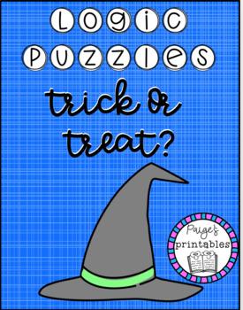 Trick or Treat LOGIC PUZZLE
