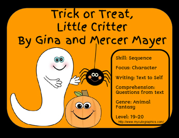 Trick or Treat Little Critter