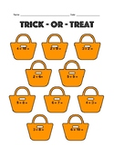 Trick-or-Treat Math Facts