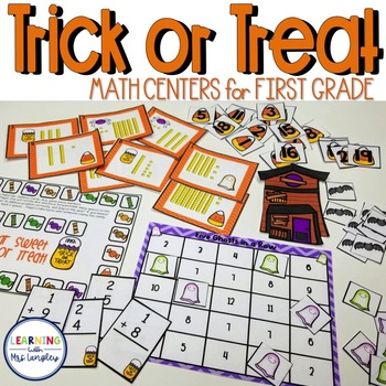 Trick or Treat Math Stations