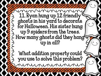 Trick or Treat, Math is Sweet: Addition and Subtraction Word Problems
