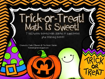 Trick-or-Treat! Math is Sweet! {Halloween Math Stations}