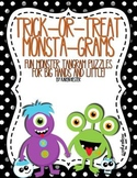 Tangram Puzzles: Trick-or-Treat Monsta-Grams