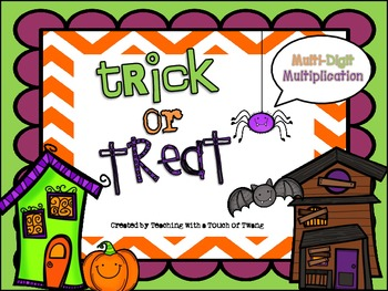 Trick or Treat: Multi-Digit Multiplication