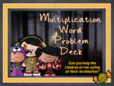 Trick or Treat Multiplication Word Problem Deck