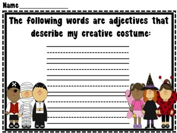 Trick or Treat Night Activity Packet