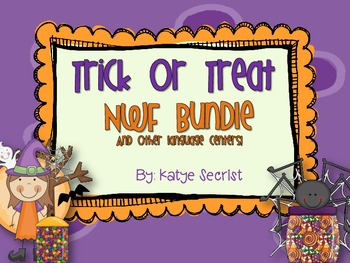 Trick or Treat Nonsense Word Fluency!