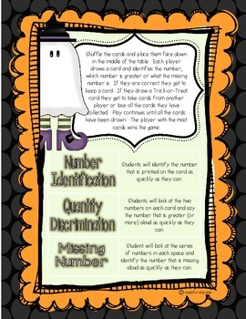 Trick-or-Treat Number Fluency