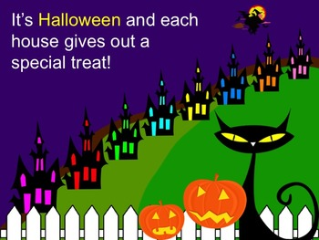 Trick-or-Treat On Music Street Solfege PowerPoint without Narration