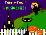 Trick-or-Treat On Music Street Solfege PowerPoint without