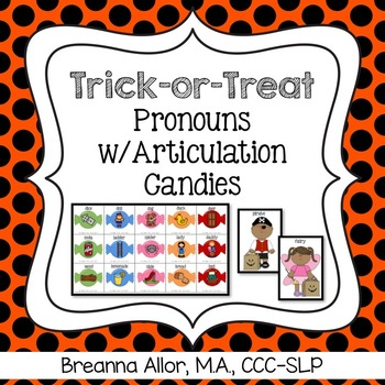 Trick-or-Treat Pronouns with Articulation Candies