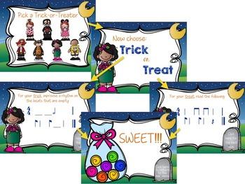 Trick or Treat Rhythm Game {syncopa}