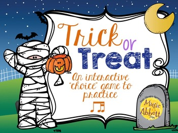 Trick or Treat Rhythm Game {ti-tika}