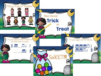 Trick or Treat Rhythm Game {tika-tika}