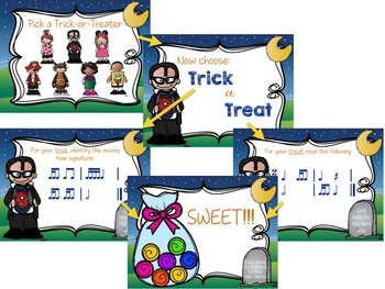 Trick or Treat Rhythm Games {BUNDLED SET}