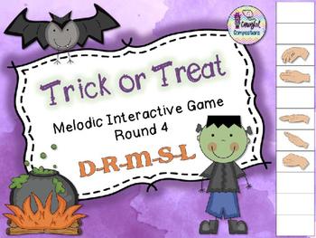Trick or Treat - Round 4 (D-R-M-S-L)
