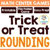 """""""Trick-or-Treat""""  Rounding Game- {CCSS Aligned}"""