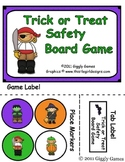 Trick or Treat Safety Board Game