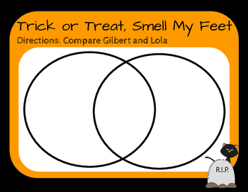 Trick or Treat Smell My Feet-Literature Group
