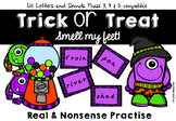 Trick or Treat Smell My Feet! Nonsense word blending UK Phonics