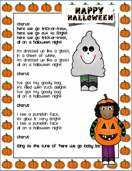 Trick or Treat Smell my Feet Hallowe'en Song