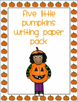 Trick or Treat Smell my Feet Writing Paper Pack