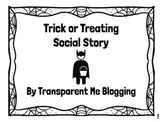 Trick or Treat Social Story- Lessons to Teach While Trick