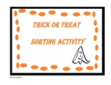 Trick or Treat Sorting