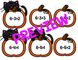 Trick or Treat?! Subtraction Fun