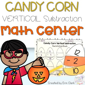 Trick or Treat? Subtraction is SWEET! {Vertical Subtraction Equations}