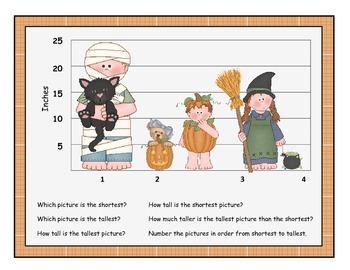 Trick or Treat! Tallest or Shortest? Let's Talk About Measurement