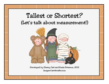 Trick or Treat! Tallest or Shortest? Let's Talk About Measurement
