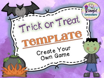 Trick or Treat Template  - Create Your Own Game