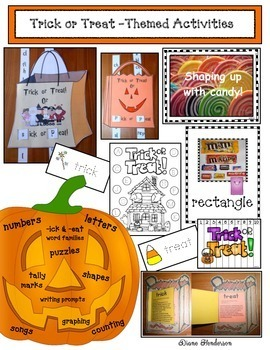 "Halloween Crafts: Educational ""Trick or Treat"" Fun for Party Day"
