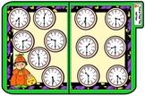 Trick or Treat Time Half Hour File Folder Game