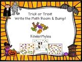 Trick or Treat Write the Math Room Bump