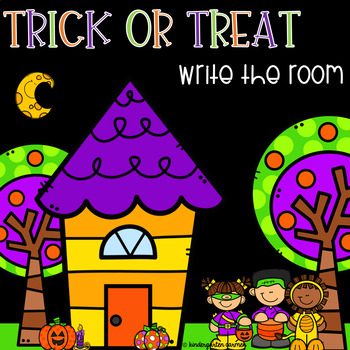 Trick or Treat Write the Room