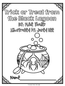 Trick or Treat from the Black Lagoon Novel Study and Activity Set