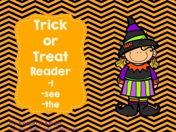 Trick or Treat sight word reader
