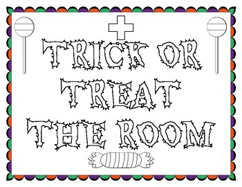 Trick or Treat the Room Addition