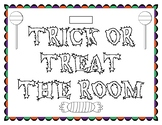 Trick or Treat the Room Subtracting