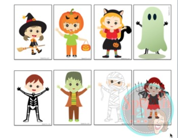 Speech therapy finger plays: Halloween, spatial concepts, expressive language