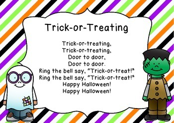 """Trick-or-Treating"" Adapted traditional song with Kodaly activity (major scale)"