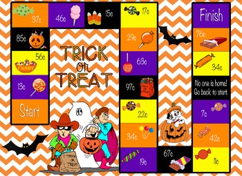 Trick or Treating Money Game