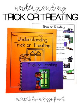 Trick or Treating- Social Story for Students with Special Needs