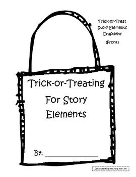 Trick-or-Treating for the Main Idea or Story Elements Fall Book Craftivities!